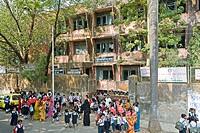 A primary school run by Municipal Corp of Greater Mumbai ; Santacruz ; Bombay now Mumbai ; Maharashtra ; India