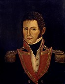 Portrait of President Antonio Villavicencio (1775-1816). Colombia, 18th-19th century.  Bogota', Museo 20 De Julio