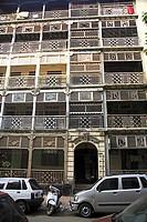 Old building hormazd mansion ; Javji dadaji street ; Tardeo ; Grant Road ; Bombay Mumbai ; Maharashtra ; India