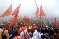 Coronation ceremony of Shivaji Maharaj , Raigarh , India
