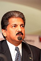 Chairman of Tech Mahindra and Vice Chairman and managing director of Mahindra and Mahindra Ltd Anand Mahindra India NO MR 13-April-2009
