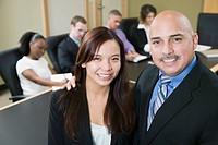 Businesspeople Smiling