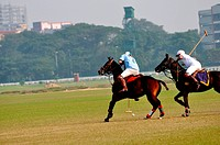 Polo match , Calcutta Kolkata , West Bengal , India