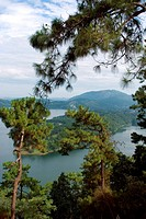 Umiam lake , Shillong , Meghalaya , India