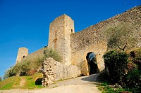 The walls of Monteriggioni