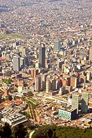 Panoramic of the City Bogota, Cundinamarca, Colombia