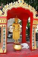 Wat Phranang Sang buddhist temple, Phuket, Thailand.