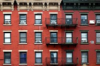 Tenth Avenue Chelsea Tenements, New York, NY, USA
