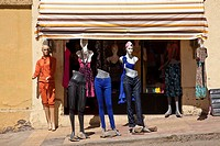 Clothes Shop Exterior, Gondar, Ethiopia