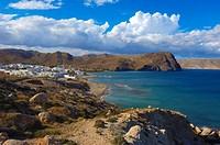Las Negras, Cabo de Gata, Biosphere Reserve, Cabo de Gata-Nijar Natural Park, Almeria, Andalusia, Spain.