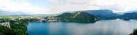 Panorama of Lake Bled