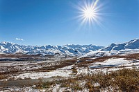 USA, Alaska, View of Alaska Range at Denali National Park