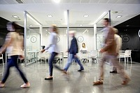 Reception of patients, Onkologikoa Hospital, Oncology Institute, Case Center for prevention, diagnosis and treatment of cancer, Donostia, San Sebastia...