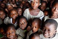 Lome schoolchildren, Togo.