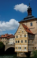 old town hall Bamberg, Franconia, Bavaria, Germany