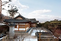 Traditional Korean House of Jongno Seoul Korea