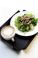 Salad and Latte
