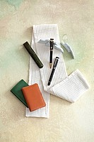 Fountain Pens and Business Card Holder