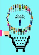 poster campaign for good shopping