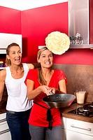 Women pancakes