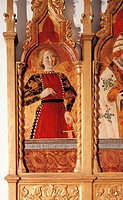 Polyptych of Gualdo Tadino, by Girolamo di Giovanni, 15th Century, 1462, tempera, cm