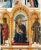 Polyptych of St. Anthony or of Perugia, by Pietro di Benedetto dei Franceschi known as Piero della Francesca, 15th Century, 1478_1485, oil and tempera...