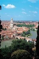 Gateway to Ponte Pietra _ Verona, 1st Century, building materials from the Roman,