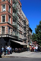 Street scene, Lenox Avenue, Harlem, Manhattan, New York City, United States of America, North America