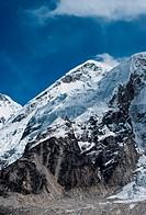 Summit not far Gorak shep and Everest base camp