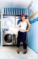 Laundry Mat Woman