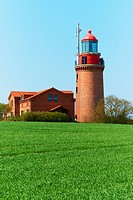 Bastorf Lighthouse _ Lighthouse BUK _ Bastorf in the district of Rostock in Mecklenburg_Vorpommern, Germany