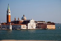 Ornate buildings on Venice canal