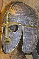 Copy Of Anglo Saxon Helmet Suffolk UK