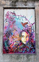 OSLO _ SEPTEMBER 6: Street painting of C215. C215, is the moniker of Christian Guemy, a French street artist hailing from Paris who has been described...