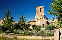 Romanesque monastery of Santa Maria - L'Estany - Bages - Barcelona - Catalonia - Spain - Europe