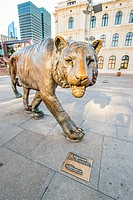 OSLO _ AUGUST 27: Oslo has a nickname among Norwegians – Tiger City – an innocent reminder that scratches are inevitable when in the capital city. Bro...