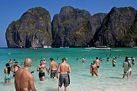 The Beach at Ko Phi Phi Island, Thailand