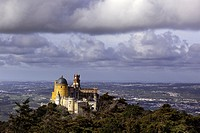 Pena Palace, Sintra Natural Park, Portugal, Europe