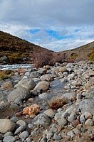 Mountain fishing river in Sierra de Gredos, Avila, Spain