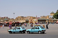 Place Lahdime square, Meknes, Morocco