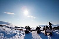 Winter Adventure Landscape