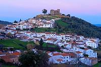 Cortegana  Castle, Sierra de Aracena y Picos Aroche natural park, Huelva province, Andalusia, Spain