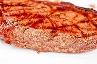 Juicy rib-eye beef steak