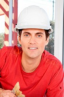 Construction Worker Portrait