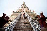 Wat Arun, Bangkok Yai, Bangkok, Thailand, Southeast Asia