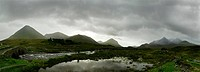Scottish Highlands Panorama