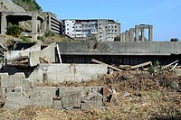 Unesco, Abandoned, Archaeological Site, Archaeology, Archeology, Architecture, Asia, Battleship Island, Coal Mining, Day, Daytime, Deserted, Exterior,...