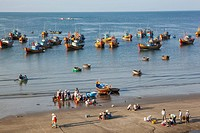 Asia, Vietnam, Mui Ne, Mui Ne Beach, Harbour, Harbours, Boat, Boats, Fishing Boat, Fishing Boats, Fishing, Fish, Fisherman, Fishermen, Beach, Beaches,...