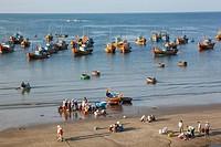 Asia, Vietnam, Mui Ne, Mui Ne Beach, Harbour, Harbours, Boat, Boats, Fishing Boat, Fishing Boats, Fishing, Fish, Fisherman, Fishermen, Beach, Beaches,...