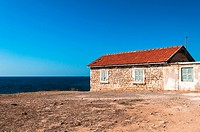 old house by the sea